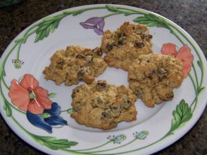 Wendy's Chewy Peanut Butter/Oatmeal/ Chocolate Chip Cookies