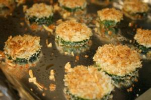 Zucchini Parmesan Crisps