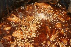 Crockpot Honey Sesame Chicken