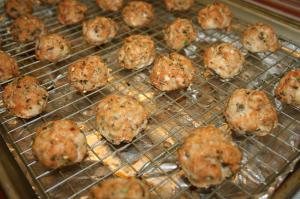 Herbed Turkey Meatballs